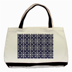 Leaves Horizontal Grey Urban Basic Tote Bag by Simbadda