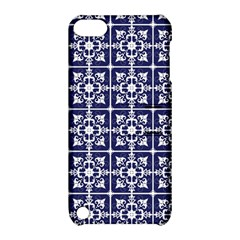Leaves Horizontal Grey Urban Apple Ipod Touch 5 Hardshell Case With Stand by Simbadda