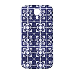 Leaves Horizontal Grey Urban Samsung Galaxy S4 I9500/i9505  Hardshell Back Case by Simbadda