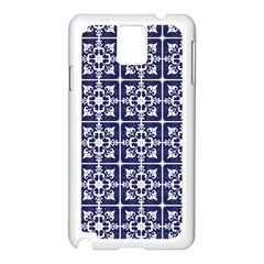 Leaves Horizontal Grey Urban Samsung Galaxy Note 3 N9005 Case (white) by Simbadda