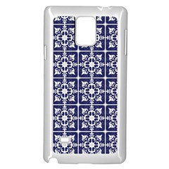 Leaves Horizontal Grey Urban Samsung Galaxy Note 4 Case (white)