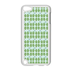 Leaf Flower Floral Green Apple Ipod Touch 5 Case (white) by Alisyart