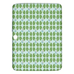 Leaf Flower Floral Green Samsung Galaxy Tab 3 (10 1 ) P5200 Hardshell Case  by Alisyart