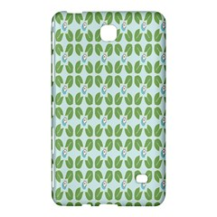 Leaf Flower Floral Green Samsung Galaxy Tab 4 (8 ) Hardshell Case  by Alisyart