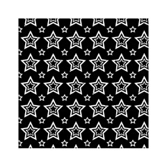 Star Black White Line Space Acrylic Tangram Puzzle (6  X 6 ) by Alisyart
