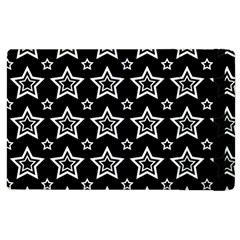 Star Black White Line Space Apple Ipad 2 Flip Case by Alisyart