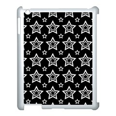 Star Black White Line Space Apple Ipad 3/4 Case (white)