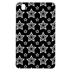 Star Black White Line Space Samsung Galaxy Tab Pro 8 4 Hardshell Case by Alisyart