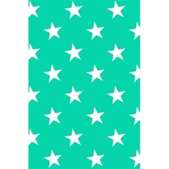 Star Pattern Paper Green 5 5  X 8 5  Notebooks