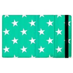 Star Pattern Paper Green Apple Ipad 2 Flip Case by Alisyart