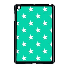 Star Pattern Paper Green Apple Ipad Mini Case (black) by Alisyart