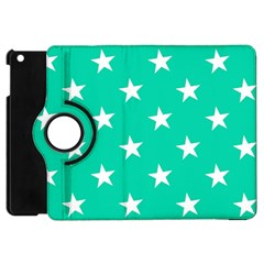 Star Pattern Paper Green Apple Ipad Mini Flip 360 Case by Alisyart