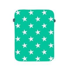 Star Pattern Paper Green Apple Ipad 2/3/4 Protective Soft Cases by Alisyart