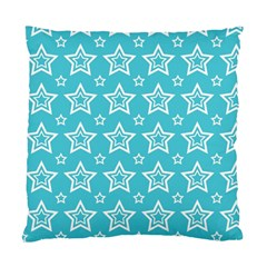 Star Blue White Line Space Sky Standard Cushion Case (one Side) by Alisyart