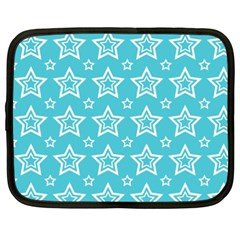 Star Blue White Line Space Sky Netbook Case (xxl)  by Alisyart