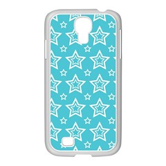 Star Blue White Line Space Sky Samsung Galaxy S4 I9500/ I9505 Case (white) by Alisyart