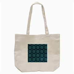 Star Blue White Line Space Tote Bag (cream) by Alisyart