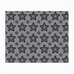 Star Grey Black Line Space Small Glasses Cloth by Alisyart