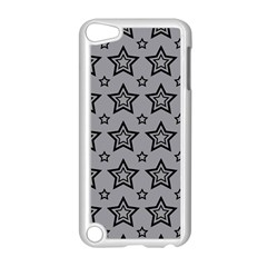 Star Grey Black Line Space Apple Ipod Touch 5 Case (white) by Alisyart