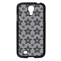 Star Grey Black Line Space Samsung Galaxy S4 I9500/ I9505 Case (black) by Alisyart