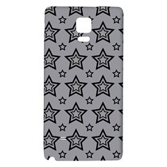 Star Grey Black Line Space Galaxy Note 4 Back Case by Alisyart
