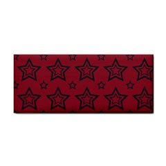 Star Red Black Line Space Cosmetic Storage Cases by Alisyart