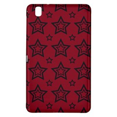 Star Red Black Line Space Samsung Galaxy Tab Pro 8 4 Hardshell Case by Alisyart