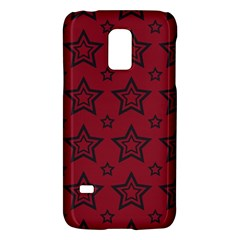 Star Red Black Line Space Galaxy S5 Mini by Alisyart