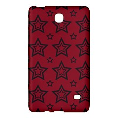Star Red Black Line Space Samsung Galaxy Tab 4 (8 ) Hardshell Case  by Alisyart