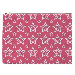 Star Pink White Line Space Cosmetic Bag (xxl)  by Alisyart
