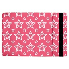 Star Pink White Line Space Ipad Air Flip