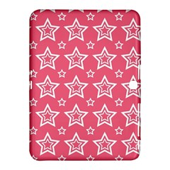 Star Pink White Line Space Samsung Galaxy Tab 4 (10 1 ) Hardshell Case