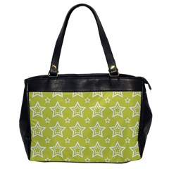 Star Yellow White Line Space Office Handbags by Alisyart