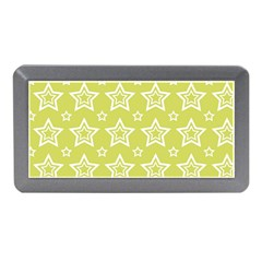 Star Yellow White Line Space Memory Card Reader (mini) by Alisyart