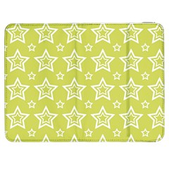 Star Yellow White Line Space Samsung Galaxy Tab 7  P1000 Flip Case by Alisyart