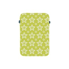 Star Yellow White Line Space Apple Ipad Mini Protective Soft Cases