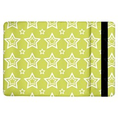 Star Yellow White Line Space Ipad Air Flip by Alisyart