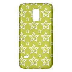 Star Yellow White Line Space Galaxy S5 Mini by Alisyart
