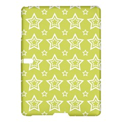 Star Yellow White Line Space Samsung Galaxy Tab S (10 5 ) Hardshell Case