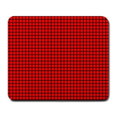 Red And Black Large Mousepads by PhotoNOLA