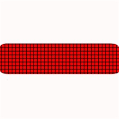 Red And Black Large Bar Mats by PhotoNOLA