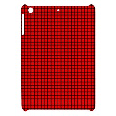 Red And Black Apple Ipad Mini Hardshell Case by PhotoNOLA