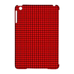 Red And Black Apple Ipad Mini Hardshell Case (compatible With Smart Cover) by PhotoNOLA