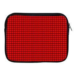 Red And Black Apple Ipad 2/3/4 Zipper Cases by PhotoNOLA