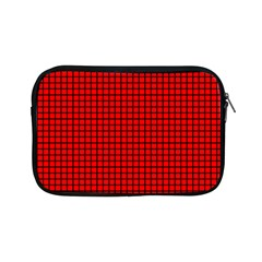 Red And Black Apple Ipad Mini Zipper Cases by PhotoNOLA