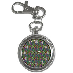 Pattern Abstract Paisley Swirls Key Chain Watches by Simbadda