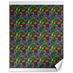 Pattern Abstract Paisley Swirls Canvas 18  X 24   by Simbadda