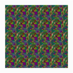 Pattern Abstract Paisley Swirls Medium Glasses Cloth (2 Side) by Simbadda