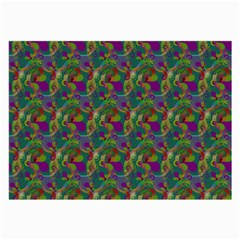 Pattern Abstract Paisley Swirls Large Glasses Cloth by Simbadda
