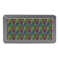 Pattern Abstract Paisley Swirls Memory Card Reader (mini) by Simbadda